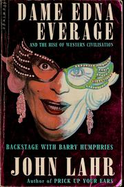 Cover of: Dame Edna Everage and the rise ofWestern civilization
