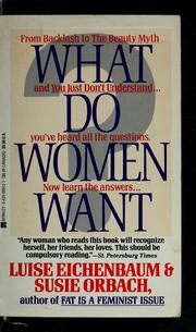 Cover of: What do women want | Luise Eichenbaum