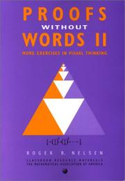 Cover of: Proofs Without Words II