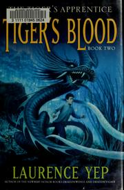 Cover of: Tiger's blood