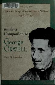 Student companion to George Orwell by Mitzi Brunsdale