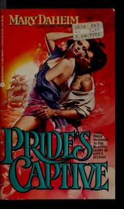 Cover of: Pride's captive