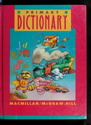 Cover of: Primary dictionary | Judith S. Levey