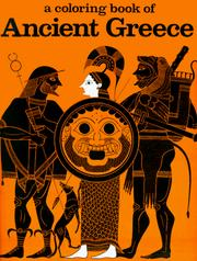 Cover of: A Coloring Book of Ancient Greece | Bellerophon Books