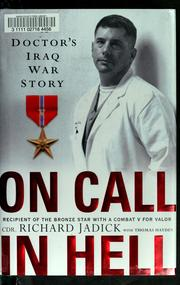 Cover of: On call in hell