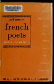 Cover of: Mid-century French poets | Wallace Fowlie