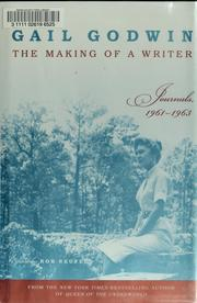 Cover of: The making of a writer