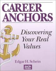 Career Anchors by Schein, Edgar H.
