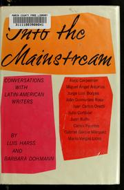Into the mainstream by Luis Harss