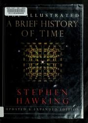 Cover of: The illustrated A brief history of time