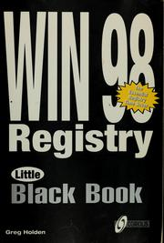 Cover of: Windows 98 registry