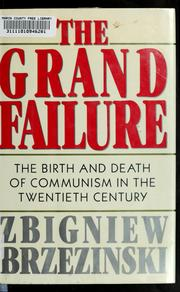 Cover of: The grand failure |