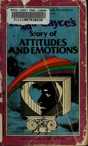 Cover of: Story of attitudes and emotions