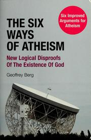 Cover of: The six ways of atheism