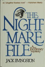 Cover of: The nightmare file | Jack Livingston