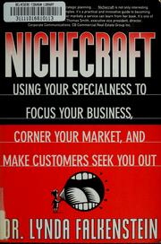 Cover of: Nichecraft