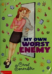 Cover of: My own worst enemy