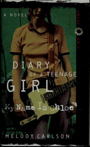 Cover of: My name is Chloe