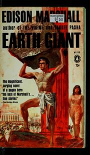 Cover of: Earth giant