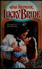 Cover of: Lucky bride