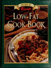 Cover of: Low-fat cookbook | Sunset Books