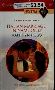 Italian marriage, in name only