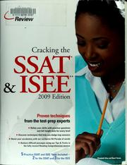 Cover of: Cracking the SSAT & ISEE | Elizabeth Silas
