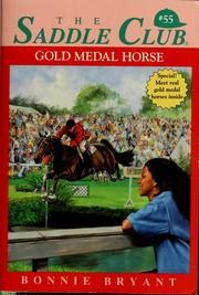 Cover of: Gold medal horse | Bonnie Bryant