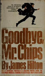 goodbye mr chips book