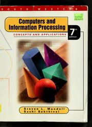 Computers and information processing by Steven L. Mandell
