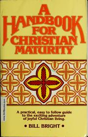 Cover of: Handbook for Christian maturity