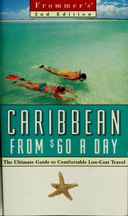 Cover of: Frommer's Caribbean from $60 a day
