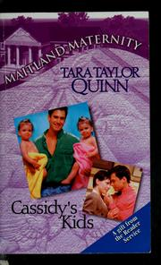 Cover of: Cassidy's kids