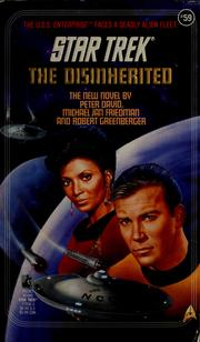 Cover of: The disinherited | Peter David