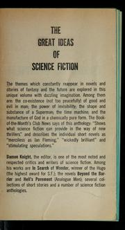Cover of: A century of great short science fiction novels