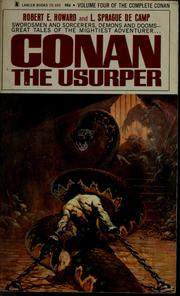 Cover of: Conan the usurper