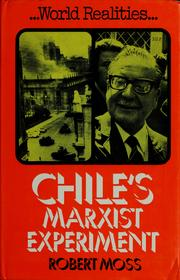 Cover of: Chile's Marxist experiment