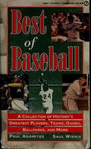 Cover of: Best of baseball