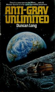Cover of: Anti-Grav Unlimited
