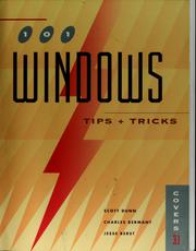 Cover of: 101 Windows tips & tricks