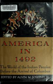 Cover of: America in 1492