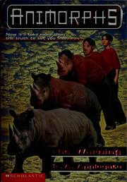Cover of: Animorphs: The warning