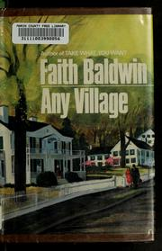 Cover of: Any village
