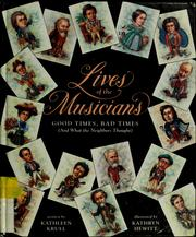 Cover of: Lives of the musicians