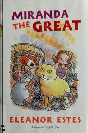 Cover of: Miranda the Great | Eleanor Estes