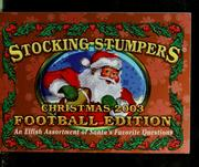 Cover of: Stocking stumpers