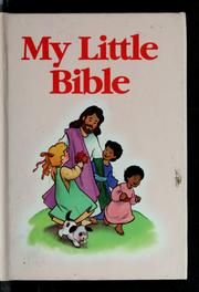 Cover of: My little Bible