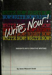 Cover of: Write now!