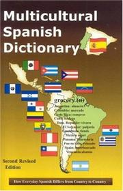 Cover of: Multicultural Spanish Dictionary | Agustin Martinez