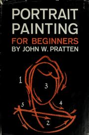 Cover of: Portrait painting for beginners